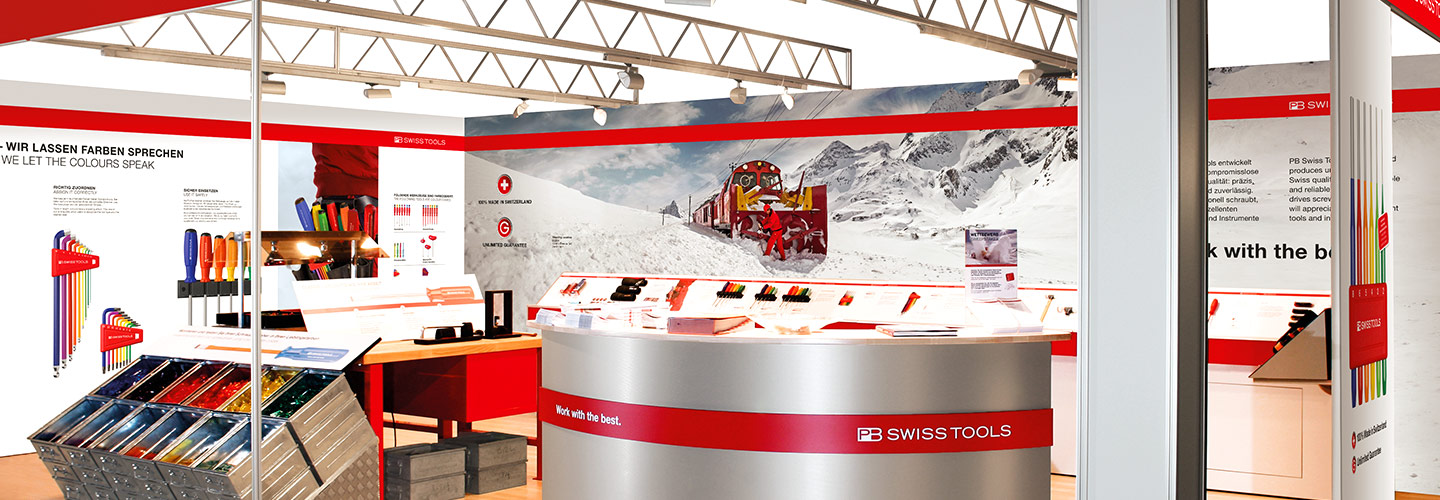 Exhibition Stand Sales Jobs : Trade fairs exhibitions pos pb swiss tools